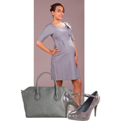 Robe retro femme enceinte